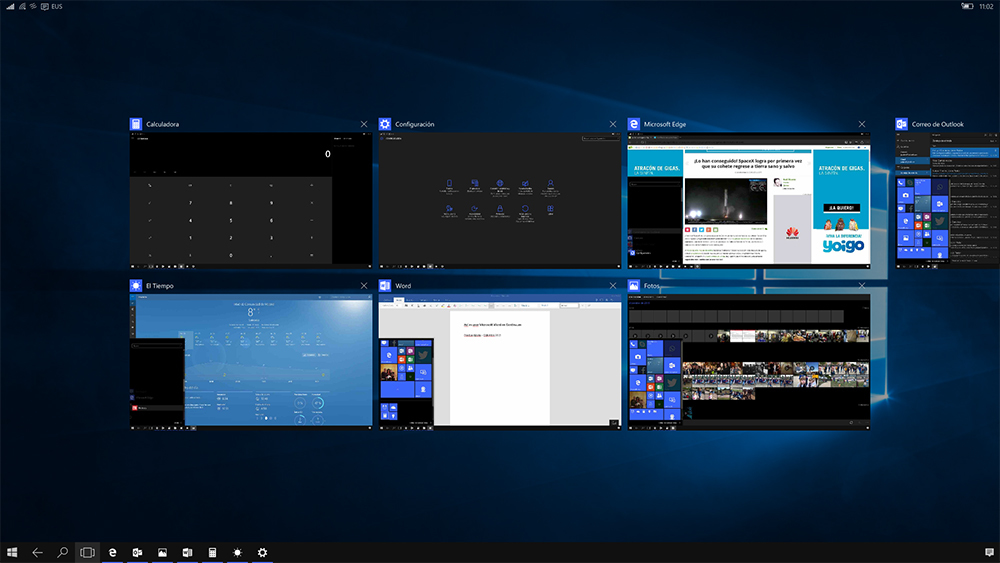 Foto de Continuum en Windows 10 Mobile (36/37)