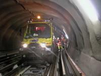 Mercedes Unimog para el metro de Suiza