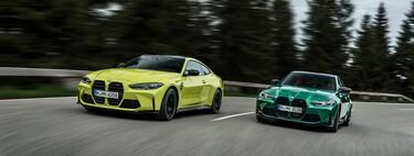 Los BMW M3 y M4 2021 son fieles a la vieja escuela: hasta 510 hp, tracción trasera... ¡y caja manual!