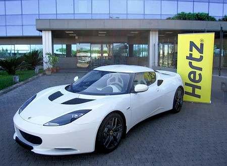Lotus Evora Hertz