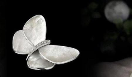 Butterflies Clip, las mariposas en oro de Van Cleef & Arpels