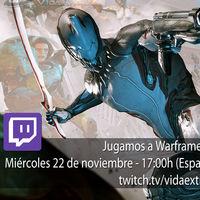 Jugamos en directo a Warframe a las 17:00h (las 10:00h en Ciudad de México)