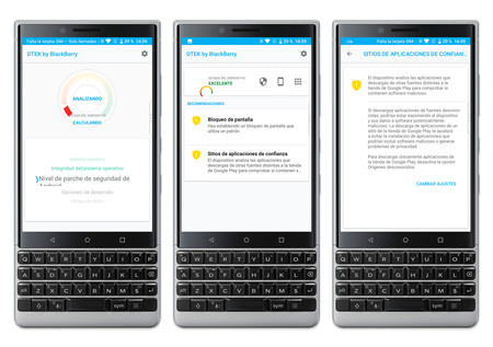 Blackberry Key2 Dtek
