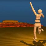 Una inteligencia artificial aprende a caminar por sí misma, y lo hace muy parecido a nosotros