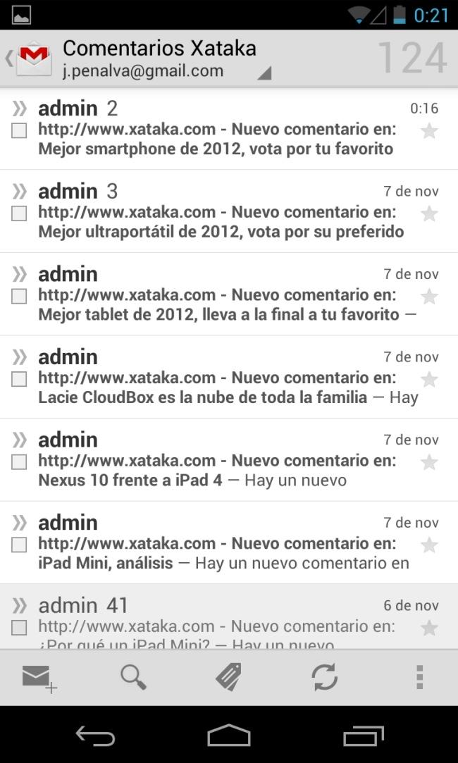 Foto de Android 4.2 capturas (14/19)