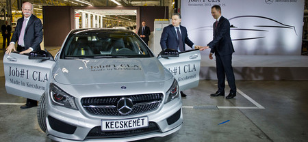 Arranca la producción del Mercedes Clase CLA, 'made in Hungary'