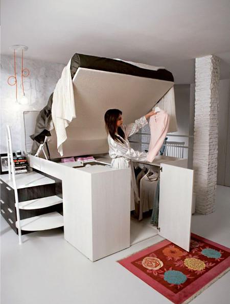 17 ideas para organizar de la mejor manera un dormitorio for Como organizar mi habitacion