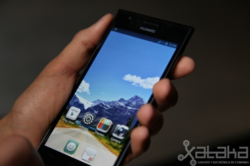 Foto de Huawei Ascend P2 toma de contacto (4/5)