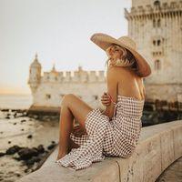 15 sombreros y gorros de paja por menos de 15 euros perfectos para protegernos de sol y dar un giro a nuestro look los días de playa este verano 2019