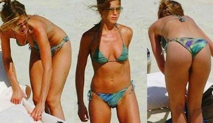 Video de Jennifer Aniston en bikini... en los 90