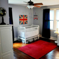 Foto 1 de 5 de la galería un-dormitorio-infantil-de-inspiracion-britanica en Decoesfera