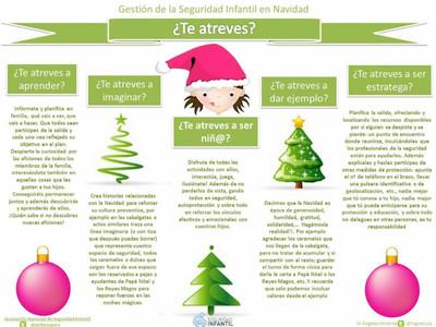 Consejos para gestionar la seguridad de los niños durante las salidas de Navidad