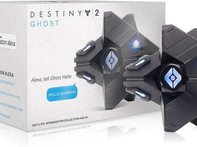 Si eres fan de Destiny, este Espectro oficial diseñado para Alexa no puede faltar en tu casa