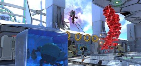 Sonic Forces revela el sistema Avatar en Alquiler y presenta un nuevo nivel en dos gameplay