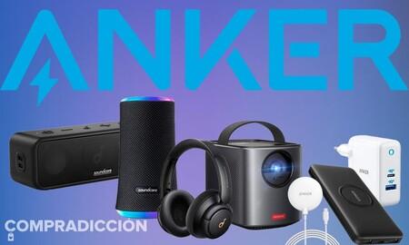 Proyectores portátiles, power banks, altavoces y auriculares Bluetooth, cargadores para smartphone... Estos dispositivos de Anker salen más baratos en estas ofertas de Amazon