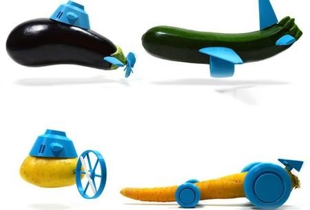 Juguetes con hortalizas y frutas, los más originales para Reyes