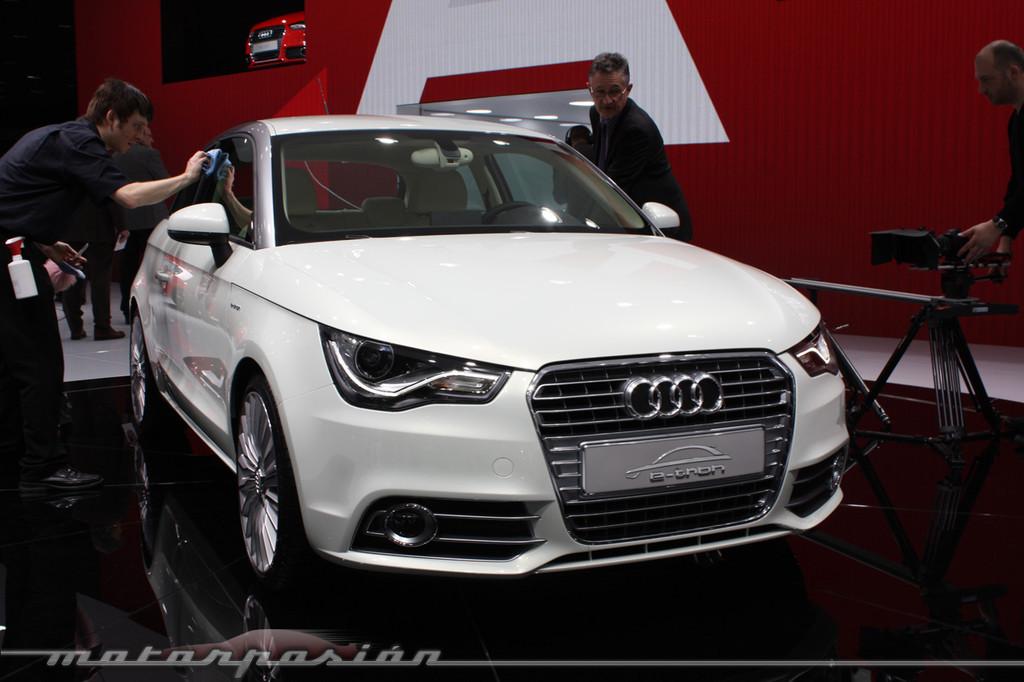 Foto de Audi A1 y A8 híbridos en el Salón de Ginebra (11/18)