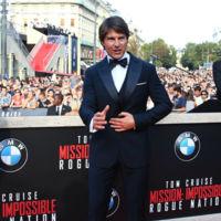 El look que no vimos de Tom Cruise en el estreno de 'Misión Imposible: nación secreta' en Viena