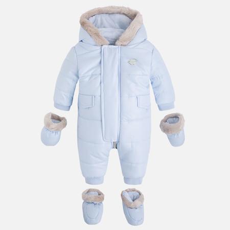 Buzo Azul Cielo Bebe