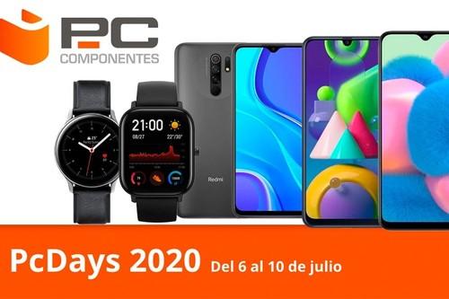 Las ofertas del día en los PcDays 2020 de PcComponentes: smartphones, tabletas y smartwatches Motorola, Lenovo, Samsung, Xioami o Amazfit a los mejores precios