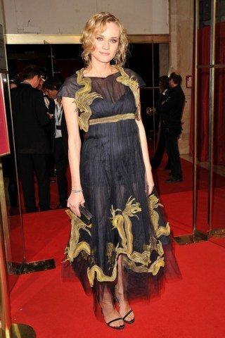 El look de Diane Kruger en los Cesar Film Awards 2011