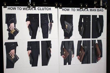 LV bolsos masculinos