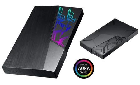 ASUS FX HDD, los nuevos discos duros externos de la marca vienen con sistema de iluminación LED incorporado