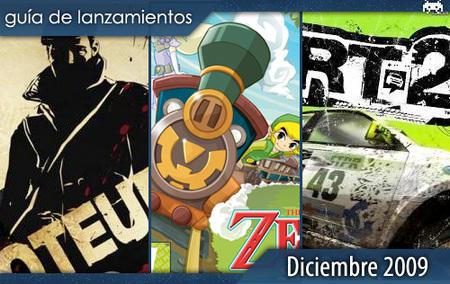 Guía de lanzamientos: diciembre de 2009