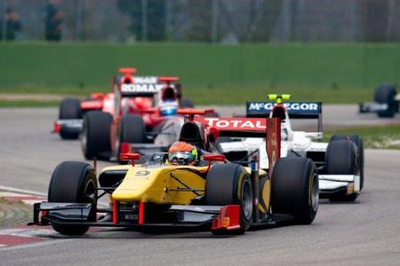 GP2 Asia Series 2011 Imola: Victoria de Romain Grosjean y buena carrera de Dani Clos