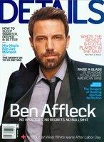 Ben Affleck nos cotillea cosas en Details