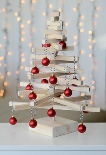 Hazlo tú mismo: un árbol de Navidad de sobremesa