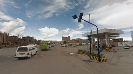 Gasolinera El Alto La Paz Bolivia