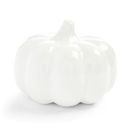 Kimball 5844301 01 Large White Autumnal Pumpkin Ornament Gbp6 Eur7 4 Pln30 Czk180
