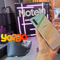 Yoigo también venderá el Samsung Galaxy Note10+ de 256 GB: precios y tarifas