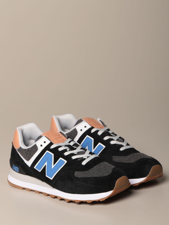 Zapatillas deportivas en negro de New Balance