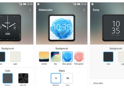 Watch Faces, la app de Sony para personalizar la apariencia de tu SmartWatch 3
