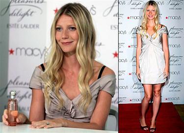 Gwyneth Paltrow imagen del nuevo perfume de Estée Lauder