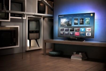 Philips Smart TV 8008 de 55 pulgadas en salón