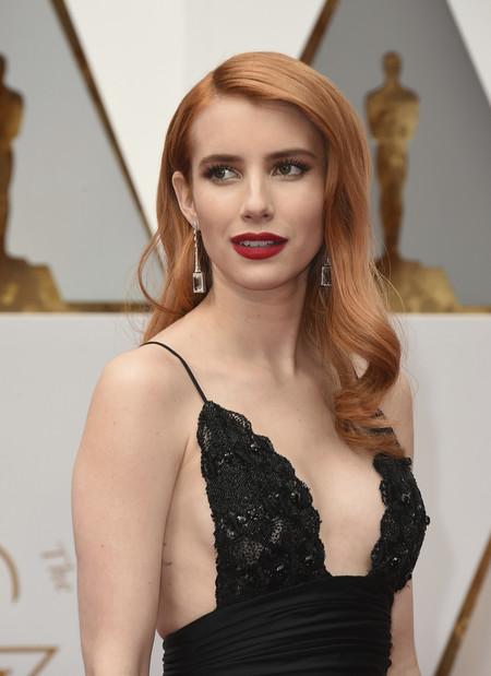 celebrities rubio pelirrojo melena cabello pelo  emma roberts