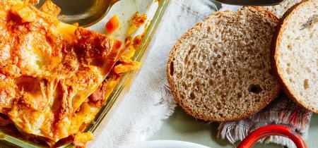 Lasaña de pescado al cúrcuma. Receta deliciosa de pescado