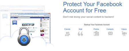 Crea respaldos de tu cuenta de Facebook