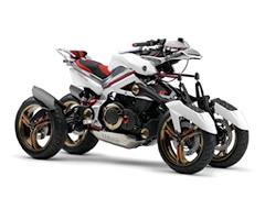 Yamaha Tesseract, nuevo prototipo... de cuatro ruedas
