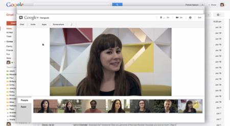 Gmail sustituye el chat de vídeo por los Hangouts de Google+