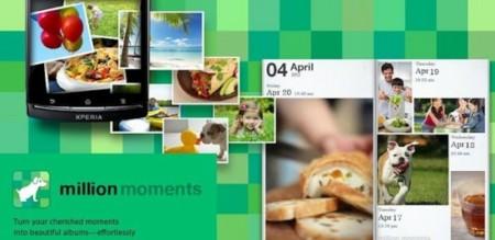 Million Moments, una galería de Sony para dispositivos Android