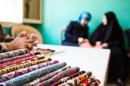 Así son las cuñas de Gioseppo realizadas por mujeres refugiadas sirias