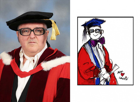 Alber Elbaz, Doctor Honoris Causa por el Royal College of Art