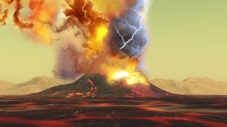 Ya puedes escuchar, por primera vez, el trueno de un volcán en erupción