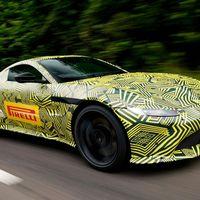 Así es el Aston Martin Vantage 2018, aún atiborrado de camuflaje
