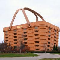 Seis edificios que parecen cosas: una bota, una cesta, un nido y más