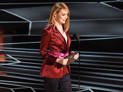 Emma Stone es criticada por su reivindicación feminista al presentar el Óscar a la mejor dirección